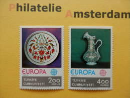 Turkey 1976, EUROPA CEPT / ARTS AND CRAFTS: Mi 2385-86, ** - Europa-CEPT