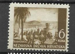 Croatia  1943 Mi# 57 MNH** - Croazia