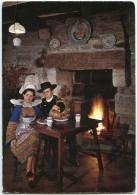 La Bretagne Pittoresque - Auprès De L´âtre, KIZ FOUEN Et GLAZICK, Costumes De Cornouaille - écrite Et Timbrée - 2 Scans - France
