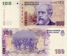 ARGENTINA     100 Pesos    P-357[e]   ND (c. 2012)    UNC  [ Sign. Marcó - Boudou ] - Argentine