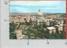 CARTOLINA VG VATICANO - ROMA - La Cupola Di San Pietro Dai Giardini Vaticani - 10 X 15 - ANNULLO 1961 - Vaticano