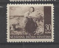 Croatia  1943 Mi# 63 MNH** - Croazia