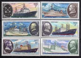 1980 - Rusia - Sc. 4881-4886 - MNH - 1923-1991 USSR