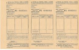RATIONNEMENT- Bon D'achat Pour Agriculteur - Volets- - Historische Dokumente