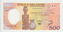 Equatorial Guinea 500 Bipkele 1985 Pick 20 UNC - Guinée Equatoriale