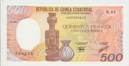 Equatorial Guinea 500 Bipkele 1985 Pick 20 UNC - Equatoriaal-Guinea