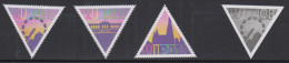 D 938) Österreich Austria 2006-8 Mi# 2612 2645 2705 **:  WIPA'08 - Dreiecke - 1945-.... 2nd Republic