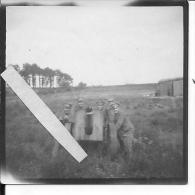 Faux Canon Allemand Et Ses Servants 1 Photo 1914-1918 14-18 Ww1 Wk1 - Guerra, Militari