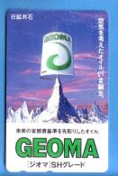 Japan Japon Telefonkarte Télécarte Phonecard - Berg Mountain Swiss Schweiz  Matterhorn - Gebirgslandschaften