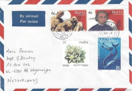 Malta 1999 Paola Occupation Napoleon Bonaparte Dolphin Cover - Malta