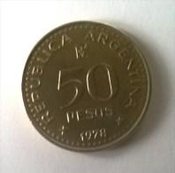 Monnaie - Argentine - 50 Pesos 1978 - - Argentine