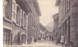 BARRAUX : La Grande Rue - Hôtel Mollier - Barraux