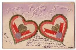 St Valentine's Day Harts Love Vintage Original Ca1900 Postcard Cpa Ak (W4_1800) - Dia De Los Amorados
