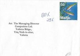 Malta 1999 Valletta Fish Marine Life Cover - Malta