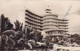 Mexico Acapulco Hotel De Pesca 1950 RPPC