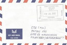 Spain 2012 Sant Cugat Del Valles Unfranked Postage Paid Cover - 1931-Tegenwoordig: 2de Rep. - ...Juan Carlos I