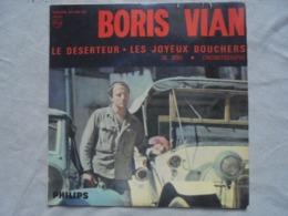 Disque Vinyle 45 T BORIS VIAN Le Déserteur 4 Titres - Vinyles