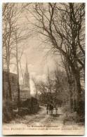 La Bretagne Pittoresque - PLÉNEUF - Chemin Creux Du Vauclair (paysage D'hiver) - Attelage - Sépia Non écrite - 2 Scans - Pléneuf-Val-André