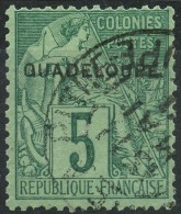 Guadeloupe (1890) N 17 (o) - Oblitérés