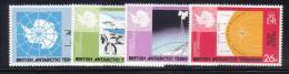 Z723 - ANTARTIC 1981 , Serie N. 101/104 *** MNH . - Territorio Antartico Britannico  (BAT)