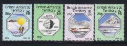 Z726 - ANTARTIC 1987 , Serie N. 164/167 *** MNH . Geofisico - Territorio Antartico Britannico  (BAT)