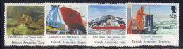 Z728 - ANTARTIC 1991 , Serie N. 205/208  *** MNH . - Territorio Antartico Britannico  (BAT)
