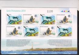 O) 2014 URUGUAY, SEA LION - OTARIA FLAVESCES,  LOBO FINE - ARCTOCEPHALUS, MNH - Uruguay