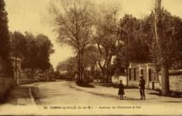 77-COMBS-la-VILLE-Avenue Du Chemin De Fer.animée - Combs La Ville