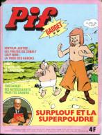 Pif Gadget N°344  (Vaillant 1582) - Les Compagnons D'Universzoo - Loup-Noir - Dr Justice - Pif Gadget