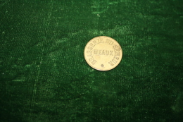 MONNAIE DE NECESSITE DE LA BRASSERIE DU SEMEUR - MEAUX  - SEINE ET MARNE - 5 - Monétaires / De Nécessité