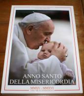 """VATICANO 2015 - OFFICIAL """"NUMISMATIC BOOK"""" ANNO SANTO DELLA MISERICORDIA - Vaticano (Ciudad Del)"""