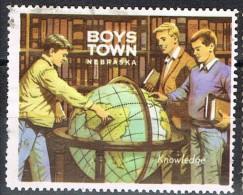 Viñeta Benefic BOYS TOWN.  Nebraska U.S.A. º - Variedades, Errores & Curiosidades