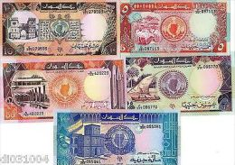 LOT SET SERIE 5 Billets AFRIQUE DU NORD // NORTH AFRICA  1991 - 1992 NEUF UNC - Banknotes