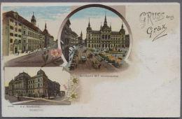 GRAZ About 1898y.  LITOGRAFY   082g - Graz