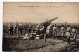 Camp De Coetquidan Canon De 155 De Bange Pret à Tirer - Guer Coetquidan