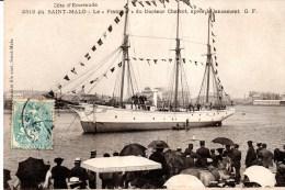 """CPA SAINT-MALO 35 - """" Le Français"""" Dr Charcot - Saint Malo"""