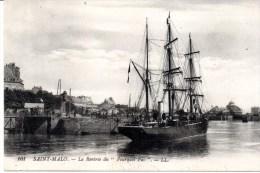 """CPA SAINT-MALO 35 - """" Le Pourquoi Pas"""" Dr Charcot - Saint Malo"""