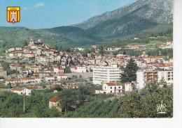 VERNET LES BAINS (66-Pyrénées Orientales) Vue Générale,blason, Ed. Mar 1980 Environ - Autres Communes