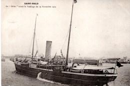 """CPA SAINT-MALO 35 - """"Le HILDA"""" Avant Le Naufrage - Saint Malo"""