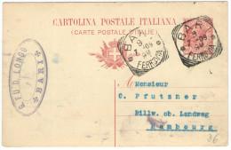 REGNO D'ITALIA - ITALY - ITALIE - 1909 - 10c - Postkarte - Carte Postale - Post Card - Intero Postale - Entier Postal... - Ganzsachen