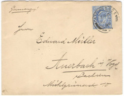 GB - Regno Unito - GREAT BRITAIN - 1906 - 2 1/2 Penny - Viaggiata Da Catford Per Auerbach/Vogtland, Germany - Storia Postale