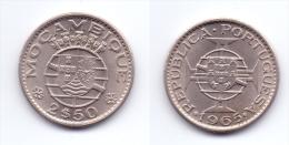 Mozambique 2 1/2 Escudos 1965 - Mozambique