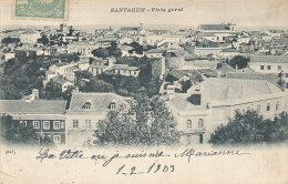 XX 822 / C P A  -PORTUGAL-   SANTAREM  VISTA GERAL - Santarem