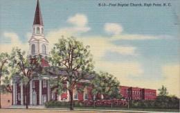 North Carolina High Point First Baptist Church