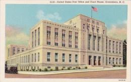 North Carolina Greensboro United States Post Office And Court Ho