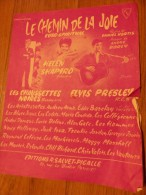 CHAUSSETTES NOIRES ELVYS PRESLEY LE CHEMIN DE LA JOIE - Chansonniers