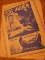 HENRI SALVADOR PETIT INDIEN - Chansonniers
