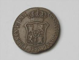 Spain - Espagne - BARCELONA 3 Quartos 1823 - 3 Quar Province De Barcelona *** EN ACHAT IMMEDIAT **** - Monnaies Provinciales