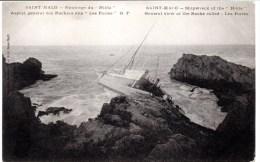 CPA - SAINT-MALO 35 - Naufrage HILDA - Saint Malo