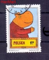 Poland 2011 Mi Mpl4522d Cancelled-story,hippo - 1944-.... Repubblica
